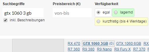 R9 380 Vs Gtx 1060
