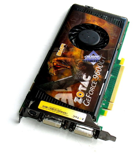 Zotac geForce 9600 GT AMP! Edition 512MB PCI- E