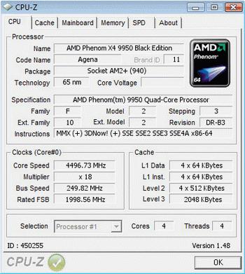 Amd phenom x4 9950 and 9350e quad-core processor review legit.