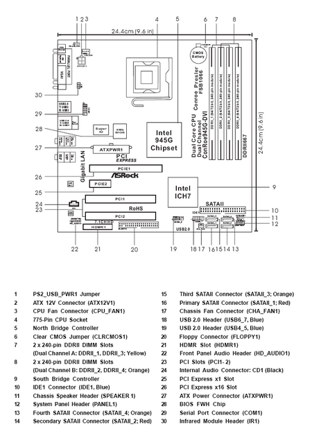 circuit diagram conroe945 dvi motherboards tom s hardware more connection dvi motherboards
