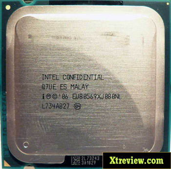 Intel core 2 Extreme QX9650 ES