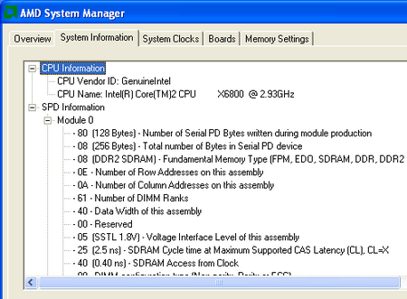amd system manager system info