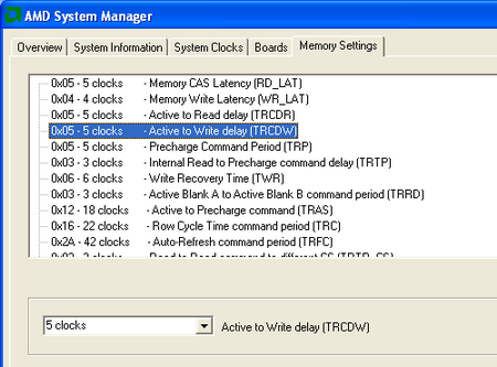amd system manager memory setting