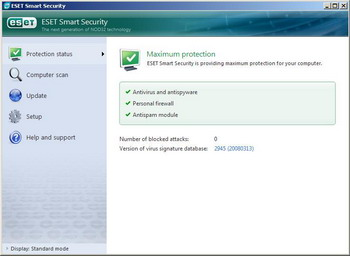 ESET Smart Security and ESET NOD32 Antivirus v3.0