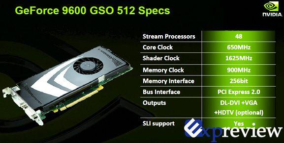 Amazon. Com: evga 384-p3-n966-tr e-geforce 9600 gso dual slot.
