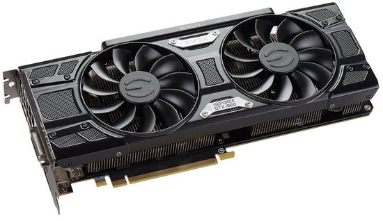 evga and inno3d presented their own version of geforce gtx