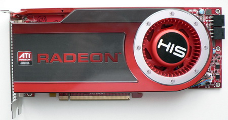 HIS radeon HD 4870 512 Mb card