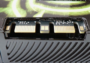 XFX GeForce GTX 280 1 Gb sli connector
