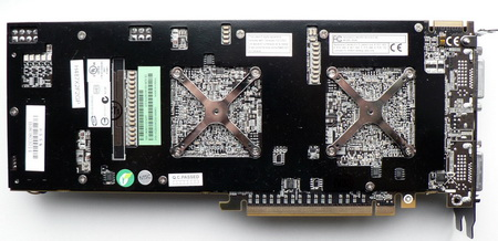 his hd4870x2 card back