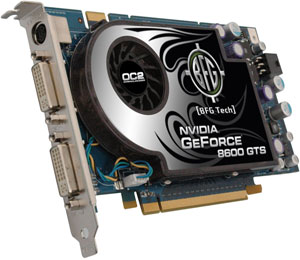 BFG geForce 8600 GTS OS 256 mb