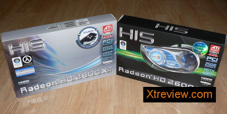 HIS radeon HD 2600 XT iSilenceIII 256 Mb and HIS radeon HD 2600 XT iceQ turbo 256 Mb