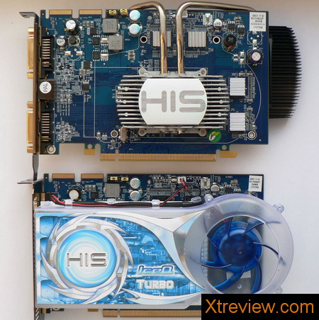 HIS radeon HD 2600 XT iSilenceIII 256 Mb and HIS radeon HD 2600 XT iceQ turbo 256 Mb : cooling system