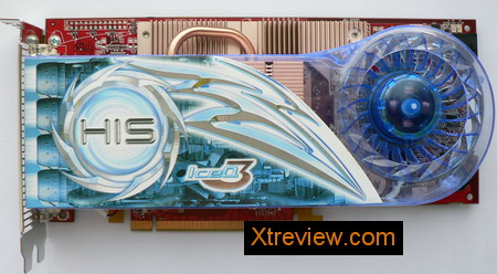 HIS radeon x1950 XT iceQ3 turbo 256Mb : the card