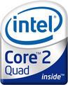 Logo INTEL Core 2 Quad