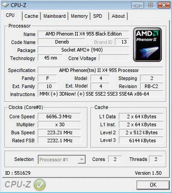 Phenom Ii X4 955 Black Edition Extreme Overclock To 7 Ghz