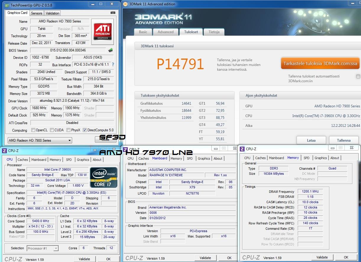 Xeon E5-1607, Xeon E5-4620 and Xeon E5-4650