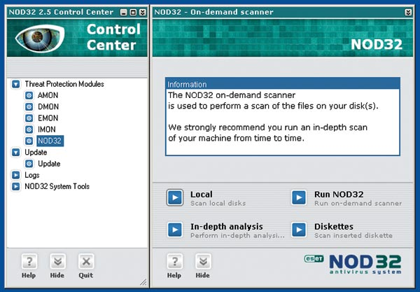 Nod32 Anti-Virüs System v2.5