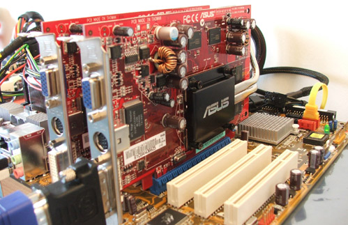 Asus X1600 Crossfire -asus x1600 review  - benchmark - overclock
