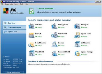 AVG Internet Security v.8.0.93 build 1300
