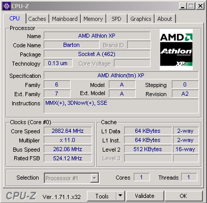 Bulgarian Enthusiast Managed To Record Overclock Athlon Xp 2500 Plus Barton
