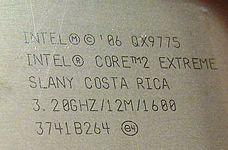 core 2 Extreme QX9775 SLANY