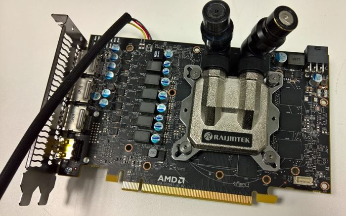 external power management and water block allow to overclock