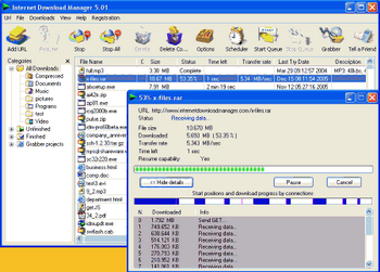 Internet Download Manager v.5.1.6 Build 3