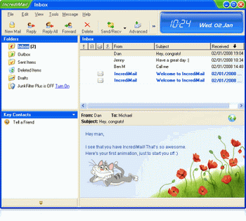 IncrediMail v.5.86 Build 4130