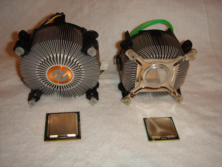Core I7 920 Cooler vs LGA 775