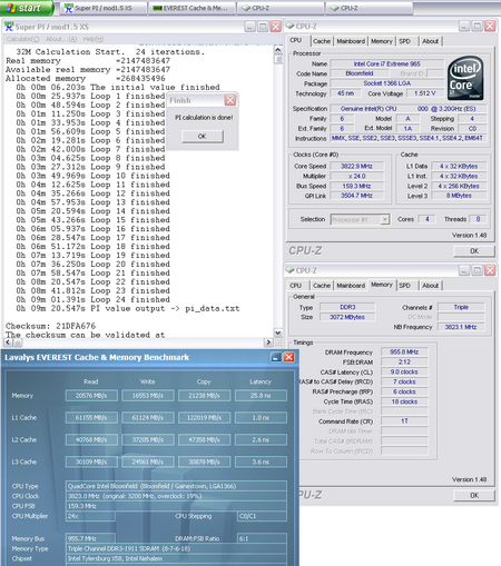 Core i7 965 Extreme edition overclocking