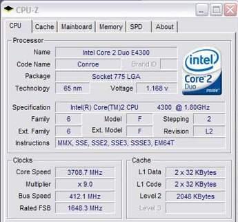 intel core 2 duo e4400 drivers