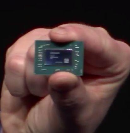 the photo of naked hybrid processor amd raven ridge ryzen