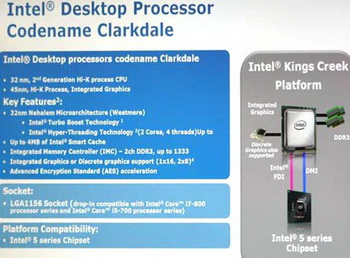 processors clarkdale performance