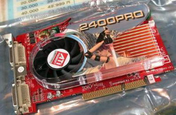 radeon HD 2400 Pro with AGP 8x 512mb
