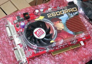 is usually installed on graphic card with PCI express x16 interface