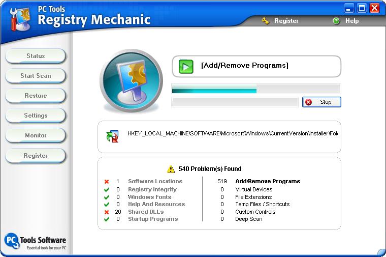 Registry Mechanic 2011 (fix your PC/lags/delay/Etc...) Registry%20Mechanic%207.0scan