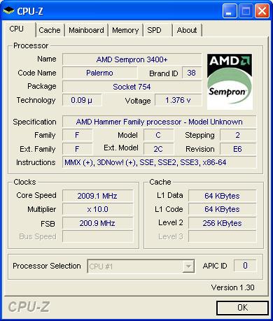 скачать драйвер для amd sempron tm processor 3000+1.6 ghz