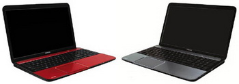 toshiba Satellite L830, L850, L855, L870 and L875