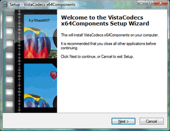 Vista Codec x64 Components v.1.7.7