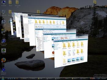 Trik 3D Cara Berpindah Aplikasi Pada Windows 7 image